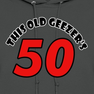 50 birthday design - Women's Hoodie