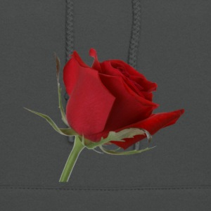 single rose 2 - Women's Hoodie