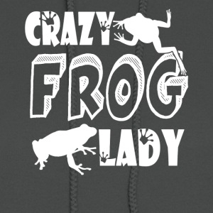 Crazy Frog Lady Shirt - Women's Hoodie