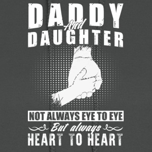 Daddy and daughter not always eye to eye - Women's Hoodie