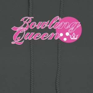 Bowling Queen Cute Graphic Tee Shirt - Women's Hoodie