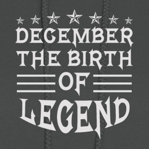 December The Birth of Legend - Women's Hoodie