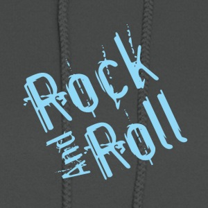 rock and roll - Women's Hoodie