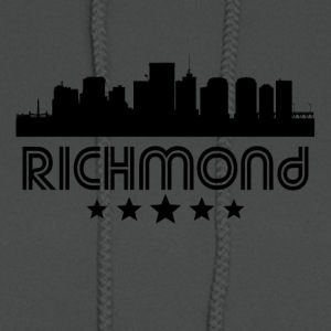 Retro Richmond Skyline - Women's Hoodie
