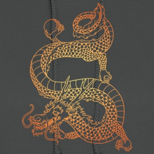 long_dragon_with_ball_gold - Women's Hoodie