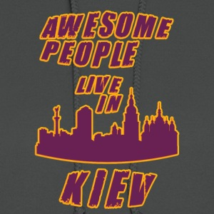 KIEV Awesome people live in - Women's Hoodie