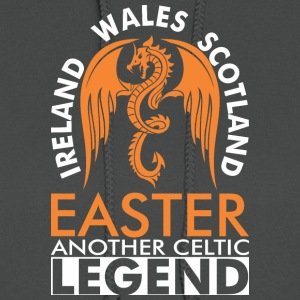 Ireland Wales Scotland Easter Anther Celtic Legend - Women's Hoodie