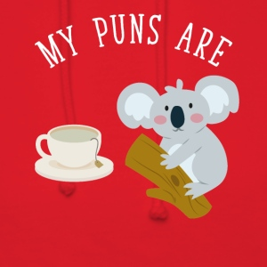 My puns are tea koala - Women's Hoodie