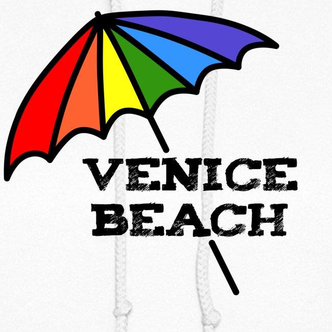 Venice Beach Rainbow Umbrella
