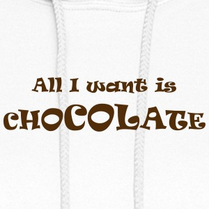 chocolate all - Women's Hoodie