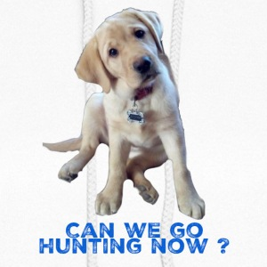 Yellow lab, Can we go Hunting Now - Women's Hoodie