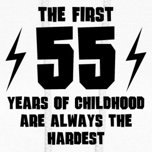 The First 55 Years Of Childhood - Women's Hoodie