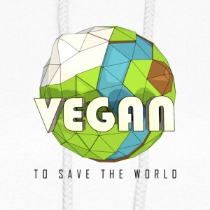 Vegan To Save the World - Women's Hoodie