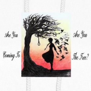 Hanging Tree Art - Women's Hoodie