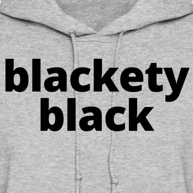 Blackety Black