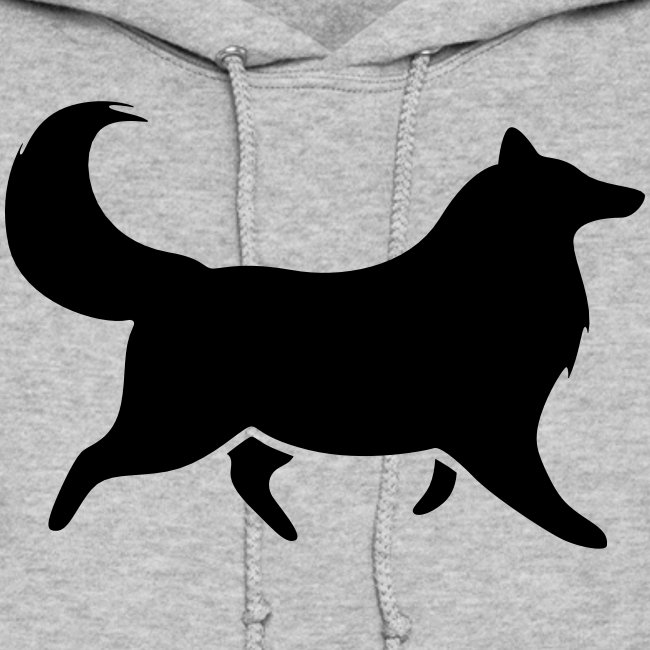 Collie silhouette small