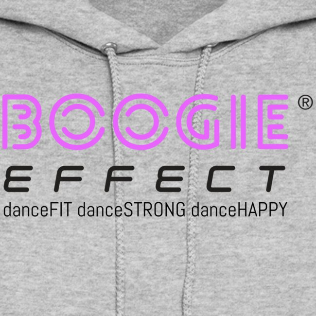 boogie effect fit strong happy logo black