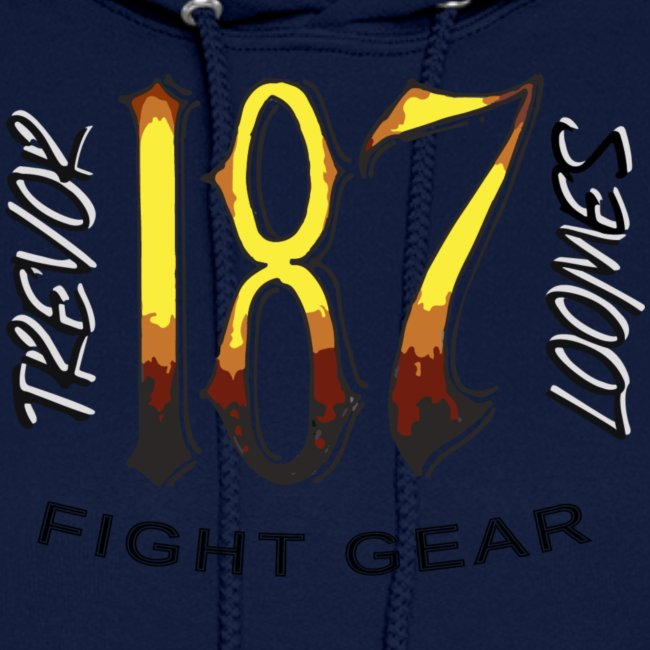 Coloured Trevor Loomes 187 Fight Gear Logo