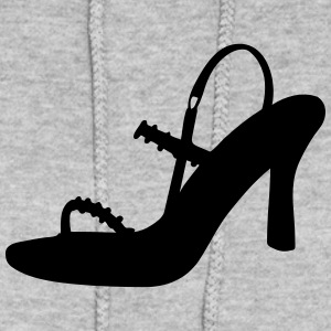 Vector high heels shoes Silhouette - Women's Hoodie