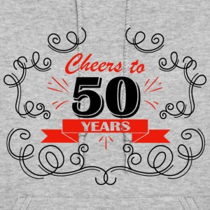 Cheers to 50 years - Women's Hoodie