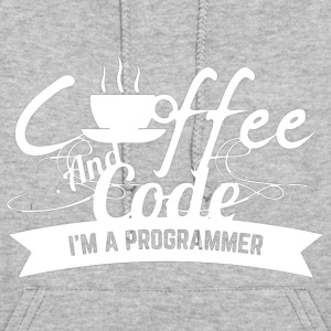 Coffee And Code T Shirt - Women's Hoodie
