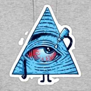 High Illuminati Eye! The all seeing eye! - Women's Hoodie