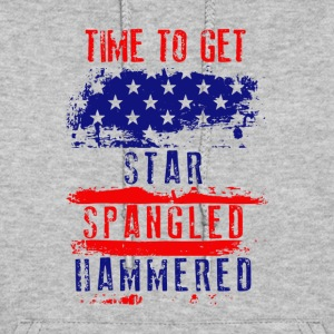 Time To Get Star Spangled Hammered Flug - Women's Hoodie