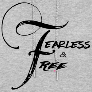 Fearless and Free2 Print - Women's Hoodie