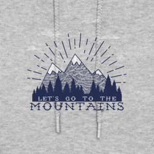 Adventure Mountains T-shirts and Products - Women's Hoodie
