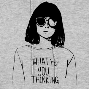 WHAT'RE YOU THINKING - Women's Hoodie