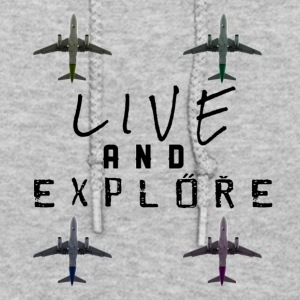 Live and Explore - Women's Hoodie