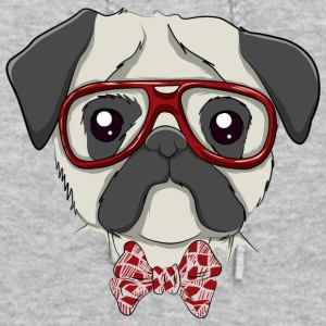 Dog pug geek T Shirt - Women's Hoodie