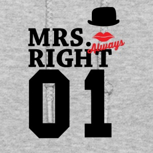 Mrs right - Women's Hoodie