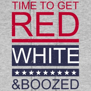 Time to get red white and boozed - Women's Hoodie
