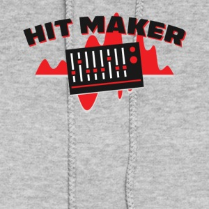 Hit Maker Producer Mixing Board Volume Sound Waves - Women's Hoodie