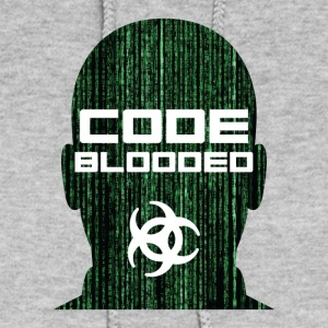 Code Blooded Funny Programmer Tee Shirt - Women's Hoodie