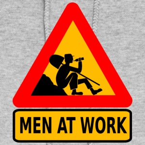 Men at Work Funny Work Shirt Construction - Women's Hoodie