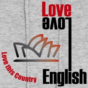 Love English, love Australia - Women's Hoodie