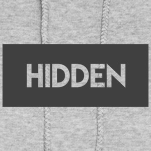 Hidden Grey and Transparent Logo - Women's Hoodie