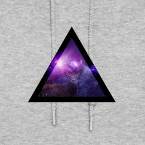 Galaxy with Deer - Women's Hoodie