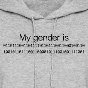 My Gender Is (nonbinary) In Binary - Women's Hoodie