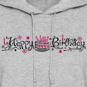 Happy birthday logo - Women's Hoodie