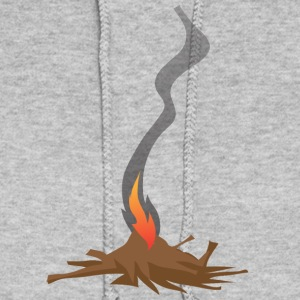 Native American Fire Indian awesome vector art - Women's Hoodie