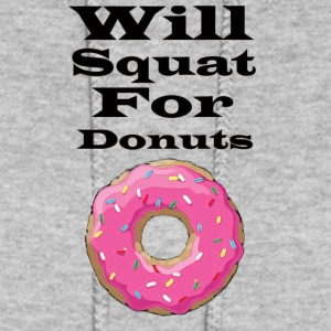 Will squat for donuts - Women's Hoodie