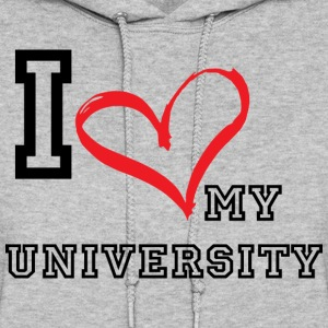 I_LOVE_MY_UNIVERSITY - Women's Hoodie