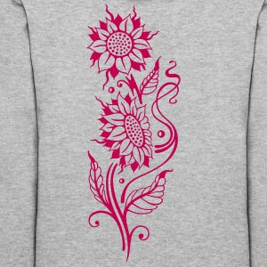 Sunflowers, beautiful summer motif - Women's Hoodie