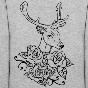 Deer with roses, Oktoberfest - Women's Hoodie