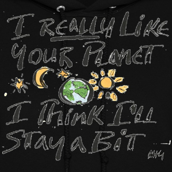 I Really Like your Planet