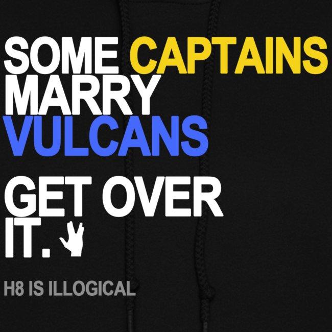 some captains marry vulcans black shirt