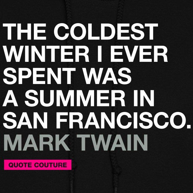 The coldest winter (women -- medium)